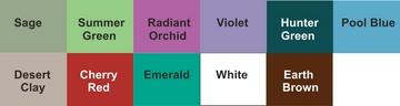 Adirondack chair colour chart-www.angloamericanonline.co.uk