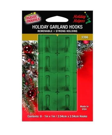 3396G garland hooks green