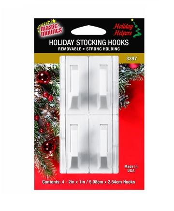 3397 Stocking hooks white