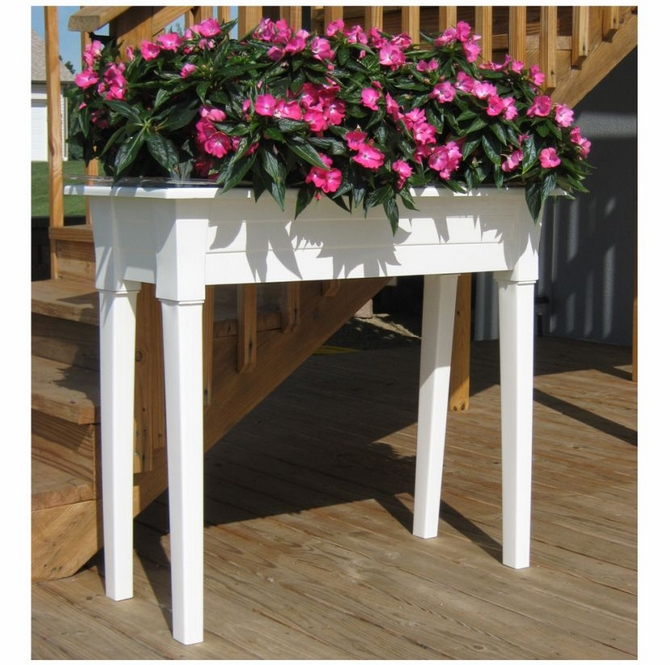 Adams Raised Garden Planter Is Strong And Sturdy. It Is Made In The USA Of  Prime Polypropylene With A UV Inhibitor And Is 100% Re Cyclable.