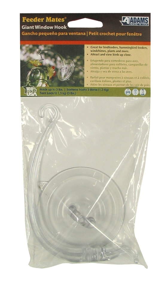 Suction Cup Bird Feeder Window Hooks Anglo American