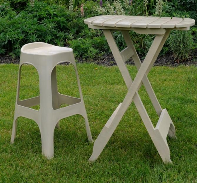 Adams Quik Fold Bistro Table Uk Anglo American Distributors
