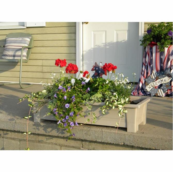 Planter Trough. Garden Planter. Desert Clay. Product Code 9302 23 3740.  Pack Of 4.