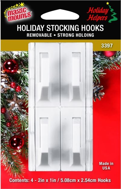 Christmas Stocking Hooks For Fireplace Mantels Anglo