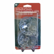 Adams Suction Cups Combo. 10ct pack. Product code 9761-99-1040. Case pack 12.