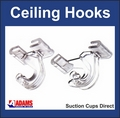 Adams Heavy Duty Ceiling Hooks or Ceiling Clips for Suspended Ceilings.