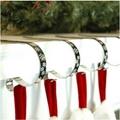 Haute Decor Original Christmas Stocking Mantel Clips.