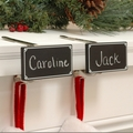 Haute Decor Original Christmas Stocking Mantel Clips. Entire Range.