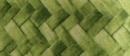 Drymate Plant Coasters. Light Green Bamboo Weave Print.