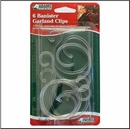 Banister Garland Clips. 6 pack. Product code:- 2700-99-2041. Case pack 12. This is a Powerwing Display Product.