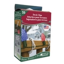 Deck Clips. 25ct pack. Product code 3210-99-1640. Case pack 12.