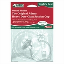 The Original Adams Giant Suction Wreath Hanger with 2 interchangeable hooks. Product code:- 5750-88-2253. Case Pack 12. This is a Powerwing Display product.